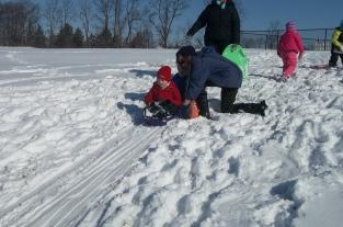 sledding day march 16 031